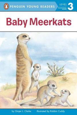 Baby Meerkats By Clarke, Ginjer L./ Cuddy, Robbin (ILT)